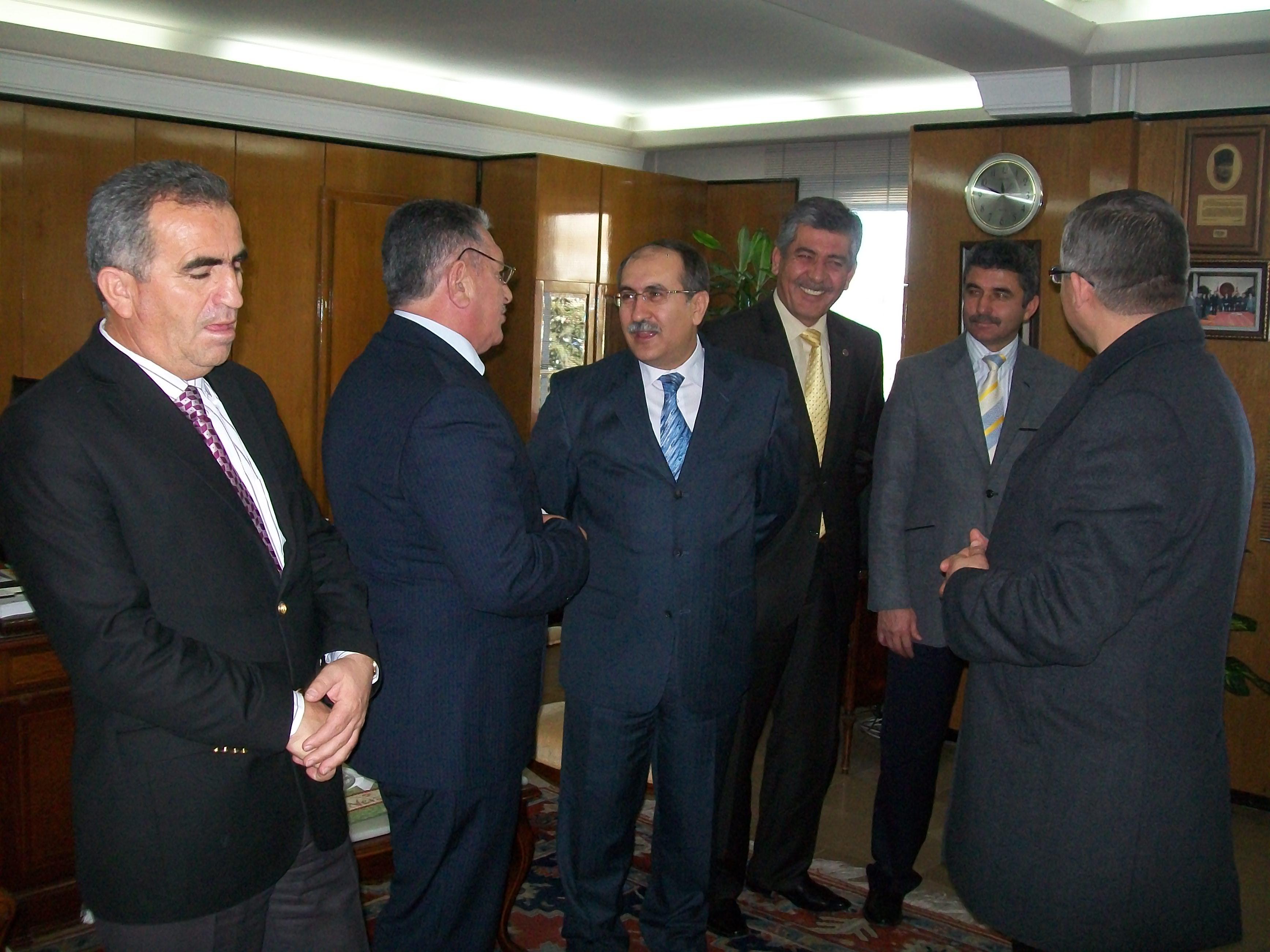 Nevşehir Valisi Abdurrahman Savaş'ı