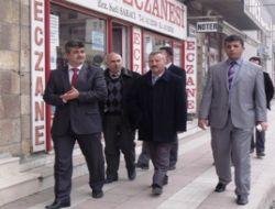 Gülşehir Başkanı Esnaf Ziyareti